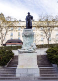 Goya雕象  免版税库存照片