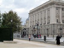 Goya utställning i Oktober 2012 på Royal Palace av Madrid royaltyfri bild
