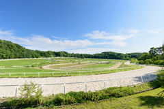 Goyang-si, Korea - July 16, 2015: Wondang horse ranch Stock Image