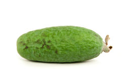 Goyave de Feijoa sur le fond blanc photo stock