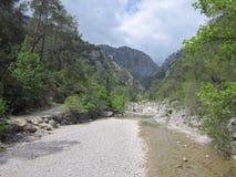 Goynuk canyon Stock Image