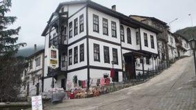 Goynuk old house. Bolu goynuk old ottoman house Stock Photos