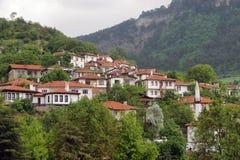 Goynuk Ottoman Homes. In Bolu, Turkey Stock Photography