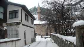Goynuk snowy days Stock Photo
