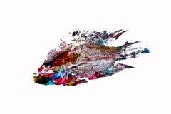 Goyutaku鱼印刷品 库存例证
