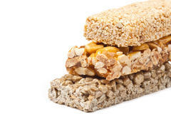 Gozinaki - traditional Georgian confection. Honey bars with peanuts, sesame and sunflower seeds Royalty Free Stock Images