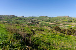 Gozitan countryside - Malta Royalty Free Stock Image