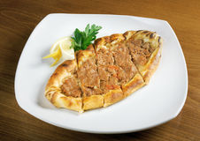 Gozleme bread with meat Stock Photography