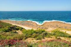 gozoön malta nära pannor saltar zebbug Fotografering för Bildbyråer