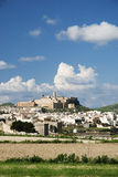 gozo海岛马耳他城镇维多利亚 免版税图库摄影