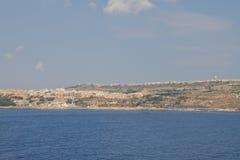 Gozo ö Arkivfoton