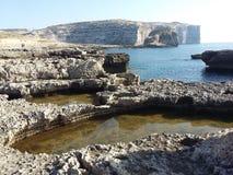 Gozo ö Arkivfoto