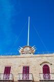Gozo ö, Malta - Maj 8, 2017: Salva Sancte Georgi Arkivfoto