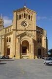 Gozo cathedral. Imporant catholic monastery Royalty Free Stock Photography