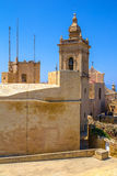 Gozo Cathedral Back Stock Image