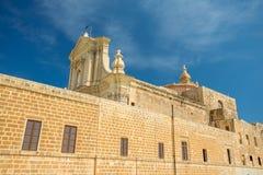 Gozo Cathedral, Victoria Rabat, Malta. Gozo Cathedral in Victoria Rabat, Malta Royalty Free Stock Images