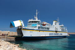 Gozo Channel Line in early summer Royalty Free Stock Photography