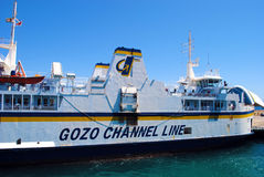 Gozo channel line ferry. The Gozo Channel Company Limited or the Gozo Channel Line, commonly known as the Gozo ferry (Maltese: Vapur t'Għawdex), is a Maltese royalty free stock image