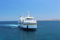 Gozo Channel Line trip in early summer Stock Images