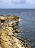 Gozo Coastline Stock Photography