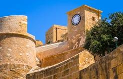 Gozo fästning Royaltyfria Foton