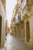 Gozo island architecture - Malta. With traditional houses Stock Photo