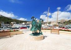 Gozo Island at Malta Stock Photography