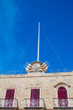 Gozo Island, Malta - May 8, 2017: Salve Sancte Georgi. Gozo Island, Malta - May 8, 2017: Salve Sancte Georgi Stock Photo