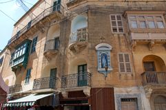 Gozo Island: Maltese architecture in Rabat, Malta Royalty Free Stock Images