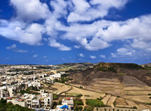 Gozo Landscape Royalty Free Stock Photos