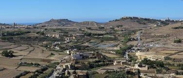 Gozo landscape Royalty Free Stock Photos