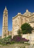 Gozo malta do gharb do pinu da basílica Ta fotos de stock royalty free