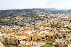 Gozo, Malta island. Landmark of Gozo Island in Malta, South Europe Stock Images