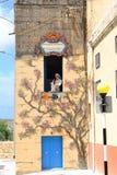 Gozo Malta, workcraft Fotografering för Bildbyråer