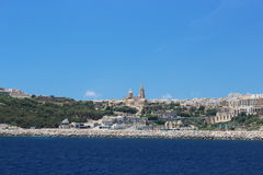 Gozo seafront Stock Images