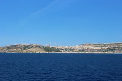 Gozo seafront Stock Photography