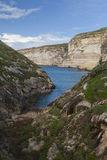 Gozo Valley. Summer time in a Gozo valley stock photos