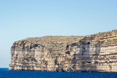 Gozo. View from Azure window, west , Malta Royalty Free Stock Photo