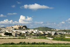 gozo wyspy Malta miasteczko Victoria Obraz Stock