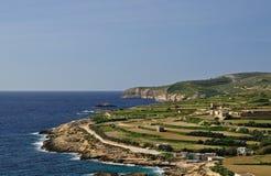 gozo xini ix Malta Fotografia Stock