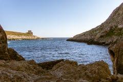 Gozo Xlendi Bay Stock Images