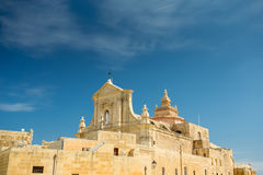 Gozokathedraal, Victoria, Malta stock foto