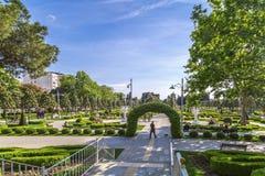 Goztepe parkerar det 60th året, Istanbul Fotografering för Bildbyråer