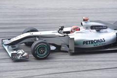 GP ομάδα petronas της Mercedes michael schumacher Στοκ εικόνα με δικαίωμα ελεύθερης χρήσης