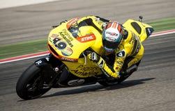 GP ARAGON MOTO GP. MOTO 2 RIDER ALEX RINS Stock Photography