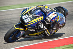 GP ARAGON MOTO GP. MOTO 2 RIDER MARCEL SCHROTTER Royalty Free Stock Images
