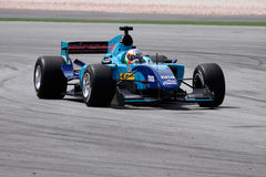 GP auto van India A1 van het team Stock Fotografie