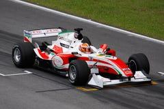 GP auto van Italië A1 van het team bij het beginnende net stock afbeelding