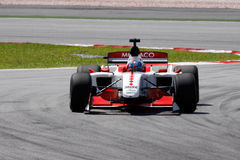 GP auto van Monaco A1 van het team stock afbeelding