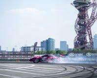 GP britannico rotondo della deriva 1-London Fotografia Stock Libera da Diritti
